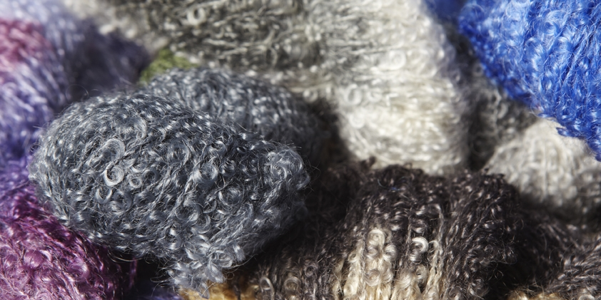 mohair boucle mix